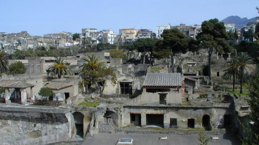 В Геркулануме восстановили «исчезнувшие» древние фрески