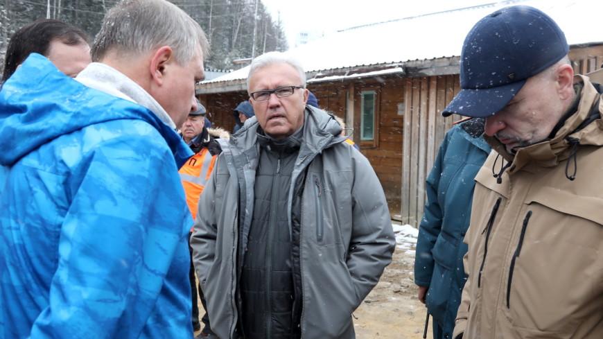 Путин поручил губернатору Красноярского края позаботиться о людях после прорыва дамбы