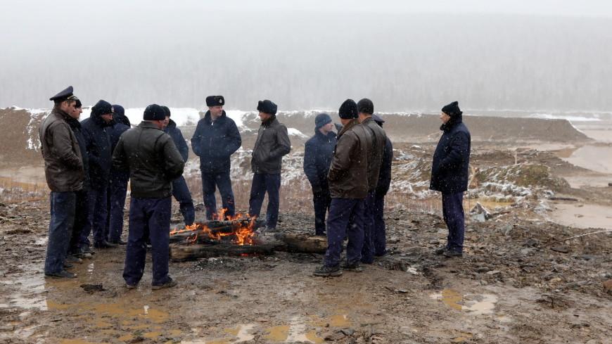 Под Красноярском нашли пять незаконных дамб, разрушенных водой
