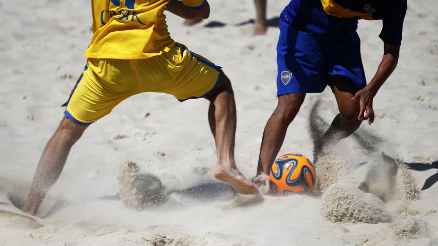 Инфантино: С нетерпением ждем ЧМ по пляжному футболу в России