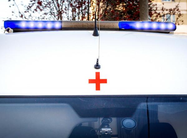 Автобус съехал в кювет под Красноярском: более 10 человек пострадали