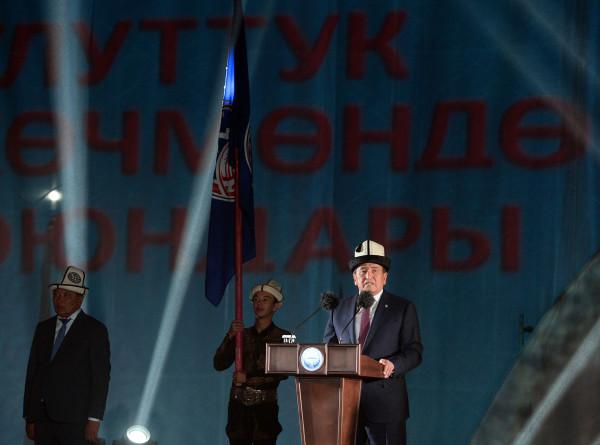 Жээнбеков: Национальные игры кочевников сплотили Кыргызстан