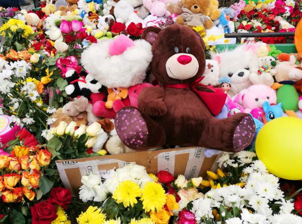 В Кемерове открыли «Парк ангелов» в память о погибших в «Зимней вишне»