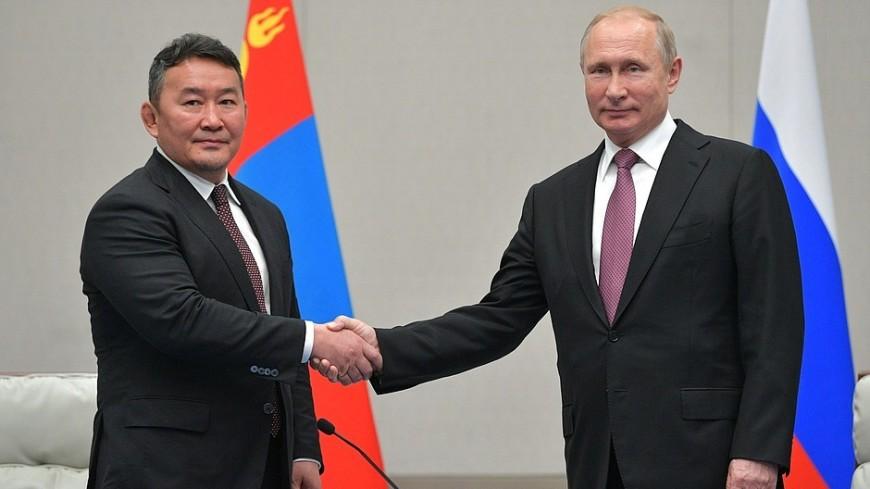 Путин пригласил президента Монголии в Москву на 75-летие победы в ВОВ