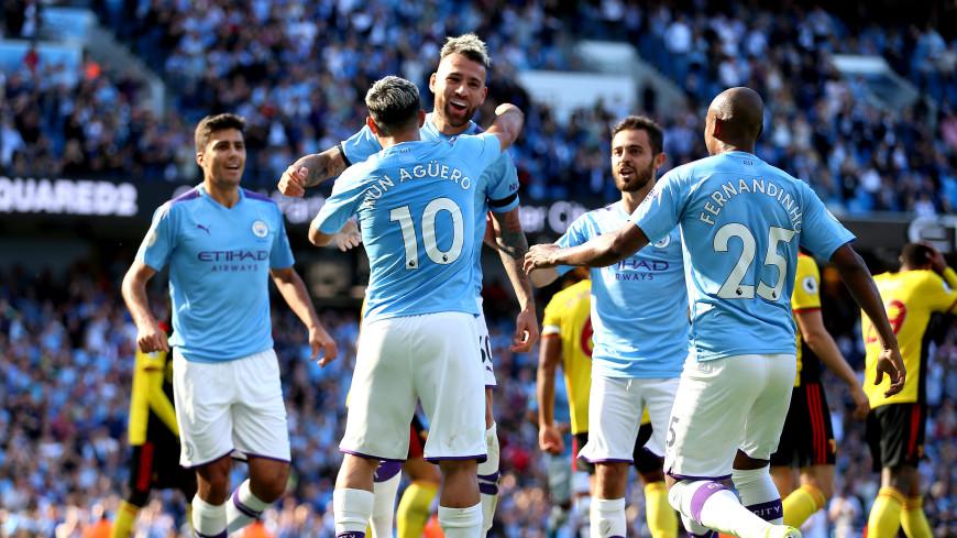 «Манчестер Сити» разгромил «Уотфорд», забив пять мячей за 18 минут