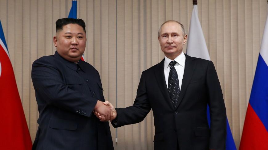 В КНДР выпустили монету с Ким Чен Ыном и Путиным