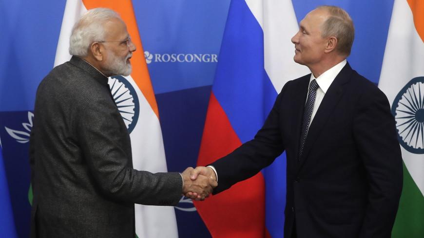 Россия и Индия договорились активнее помогать восстановлению Сирии