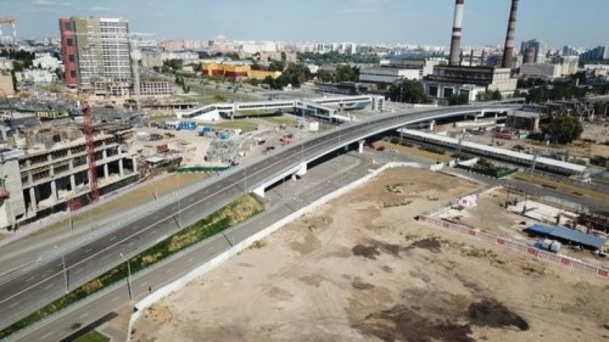 На набережной Марка Шагала в районе «ЗИЛ» в Москве разобьют «умный» парк