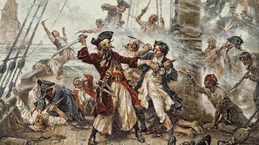Страшные и благородные: 10 карточек о пиратах