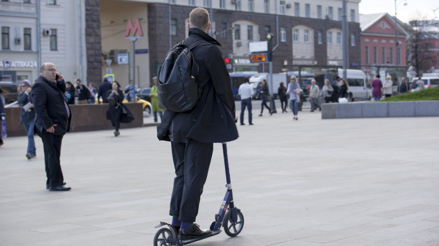 Самым быстрым видом городского транспорта оказались электросамокаты