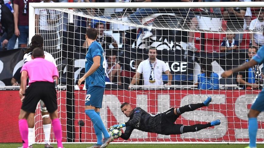 «Зенит» сыграл вничью с «Лионом» в первом матче Лиги чемпионов