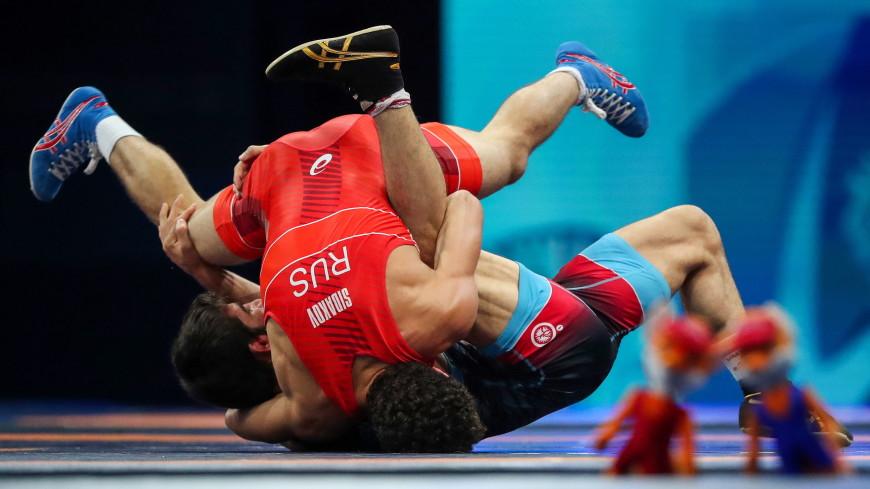 Россияне Давид Баев и Заурбек Сидаков взяли золото на чемпионате мира по борьбе