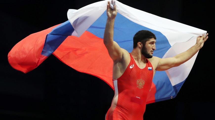 Российский борец вольного стиля Садулаев стал четырехкратным чемпионом мира