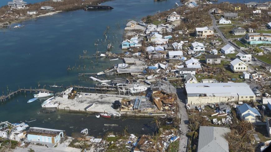 На Багамах 2,5 тысячи человек пропали без вести после урагана «Дориан»