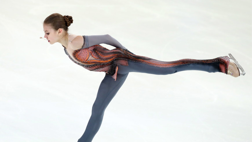 Россиянка Трусова впервые в истории исполнила три чистых четверных прыжка