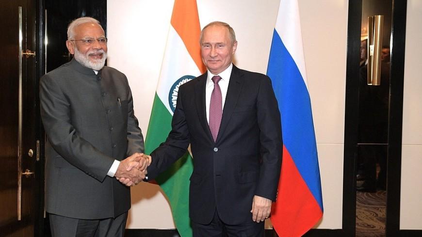 Моди рассказал об «особой химии и легкости» в отношениях с Путиным