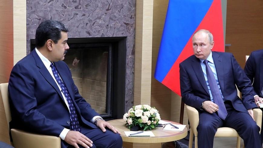 Путин в Кремле начал встречу с президентом Венесуэлы Мадуро