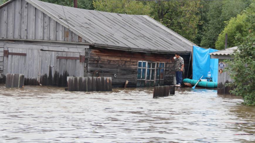 Вода прибывает: уровень в Амуре превысил опасную отметку