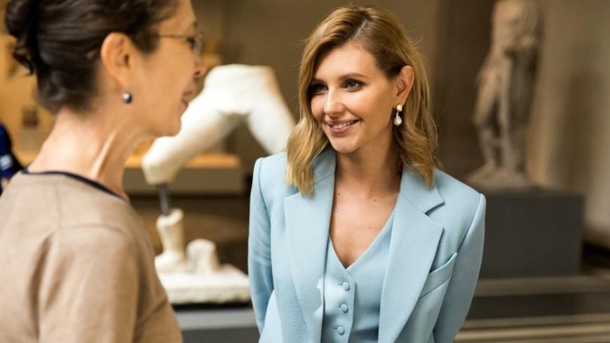 Истинная леди: в соцсетях восхитились нарядом жены Зеленского в Нью-Йорке