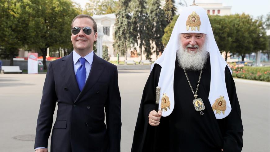 Медведев поздравил Москву с днем рождения