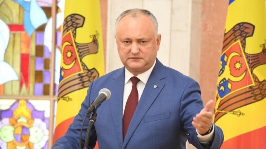 Додон заявил о скидке до 70 долларов на российский газ для Молдовы