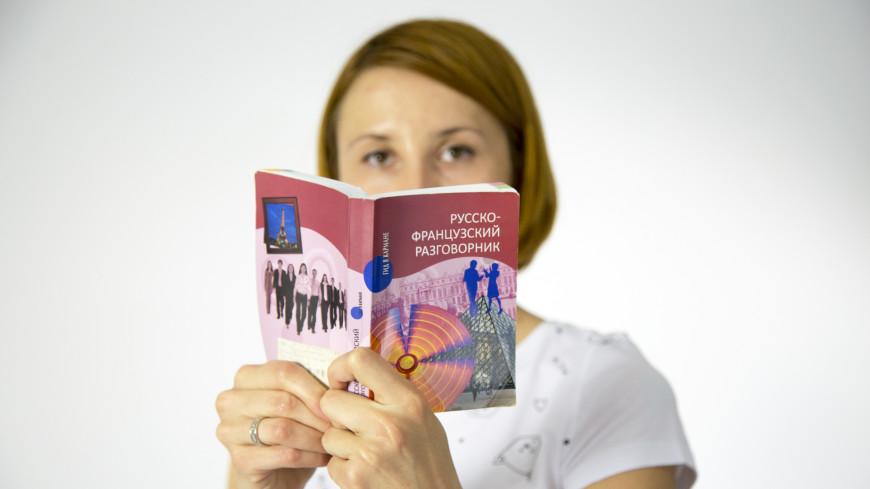 Изучение французского языка,иностранный язык, путешествие, учиться, обучение, язык, французский язык, разговорник, книга