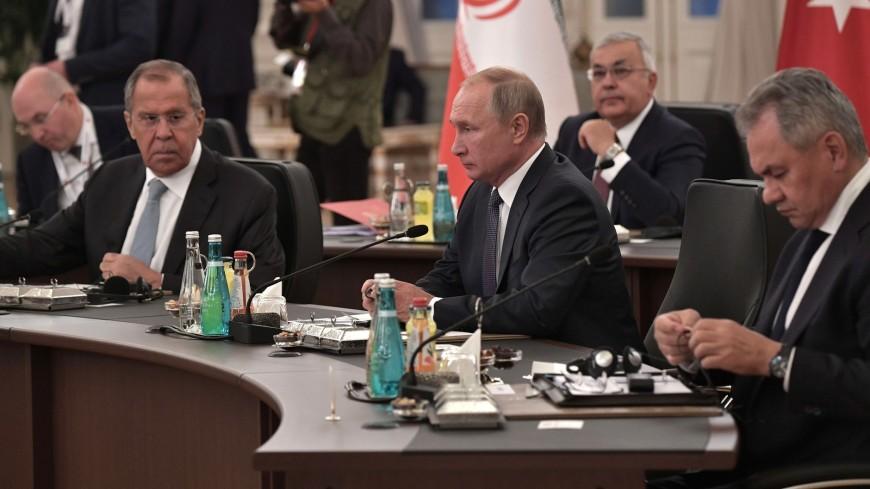 Путин: «Астанинский формат» должен иметь ведущую роль в сирийском урегулировании