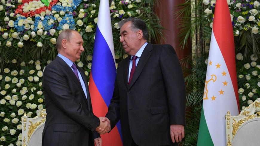 политика, власть, эмомали рахмон, Президент Республики Таджикистан, владимир путин
