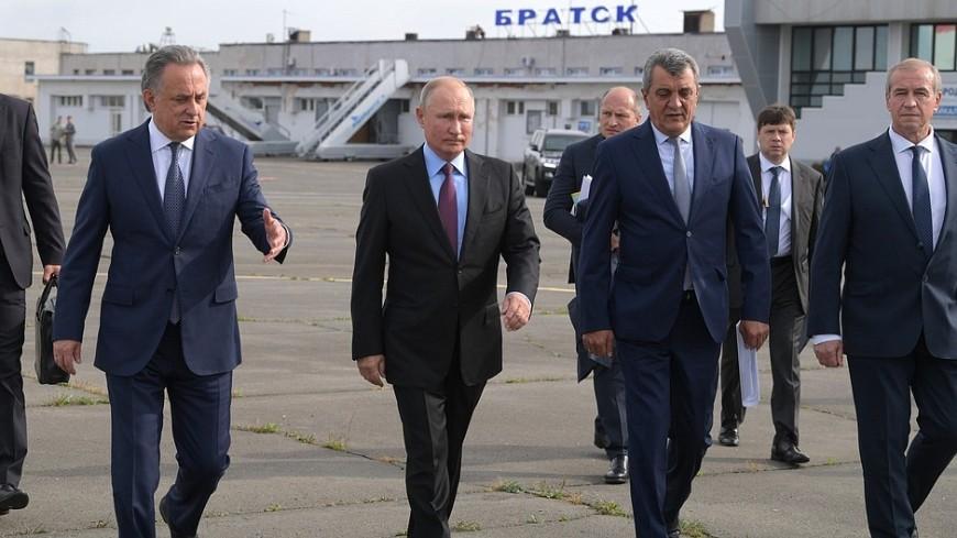 Путин: Режим ЧС в Иркутской области сохранится до решения всех жилищных проблем