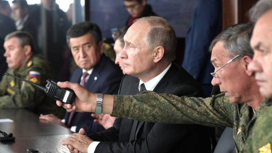 «Центр-2019»: Путин и Жээнбеков поблагодарили командование учений