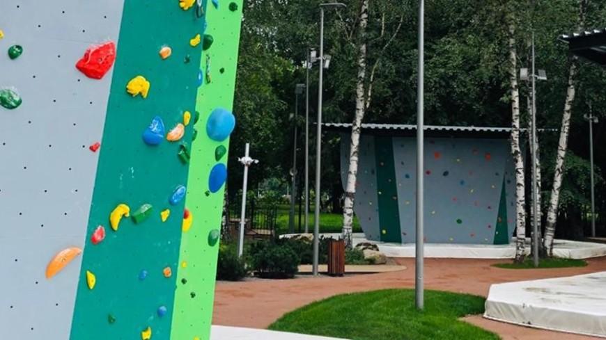 Собянин: 16-метровый скалодром появился в «Лужниках»
