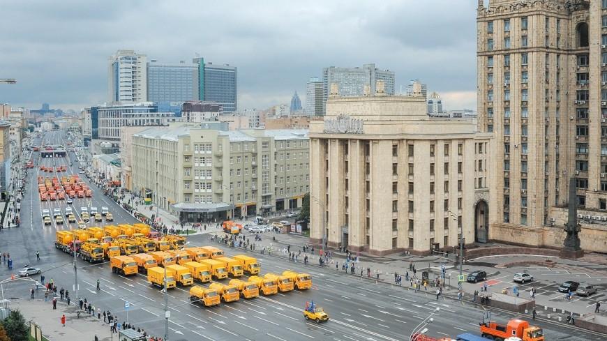 Парады и велозаезды: часть московских улиц перекроют в выходные