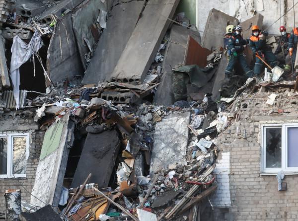 После взрыва газа в Орехово-Зуеве не установлено местонахождение четырех человек