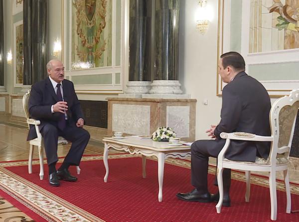 Эксклюзивное интервью Александра Лукашенко Межгосударственной телерадиокомпании «Мир»
