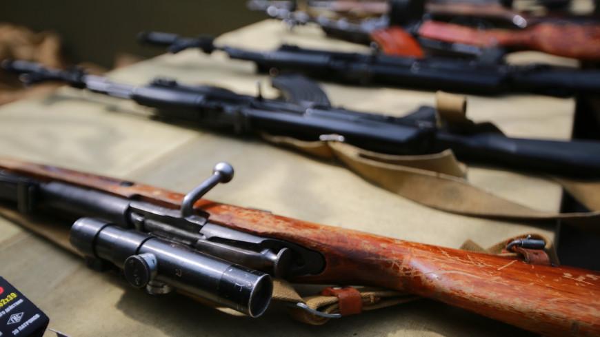 В Ульяновске обнаружили склад оружия