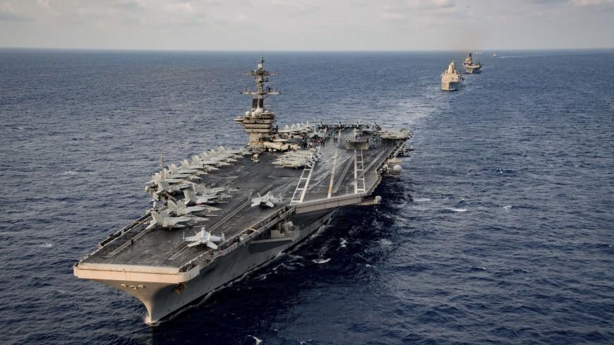 Капитана авианосца США сняли с должности за письмо о COVID-19 на судне