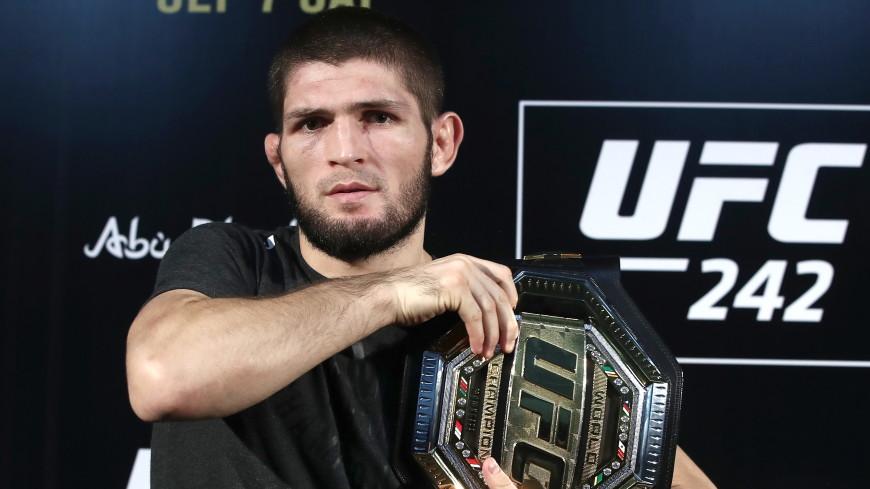 Организаторы UFC не стали лишать Нурмагомедова чемпионского пояса