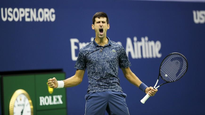 Большой спорт на дому: Джокович взял у жены сковородку и сыграл ей в теннис (ВИДЕО)