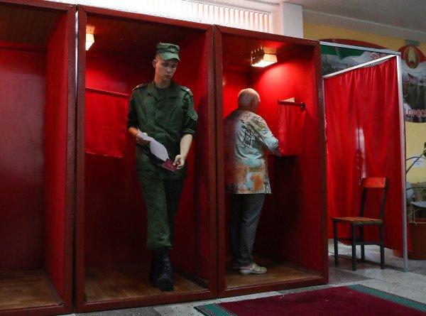В санаториях, больницах и воинских частях Беларуси закончилось голосование