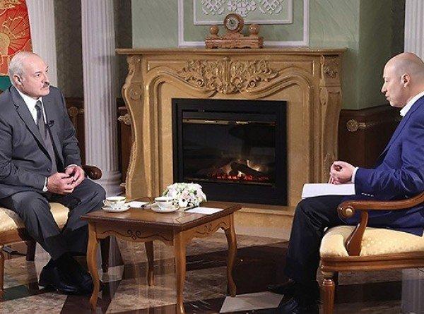 Лукашенко дал интервью журналисту Дмитрию Гордону