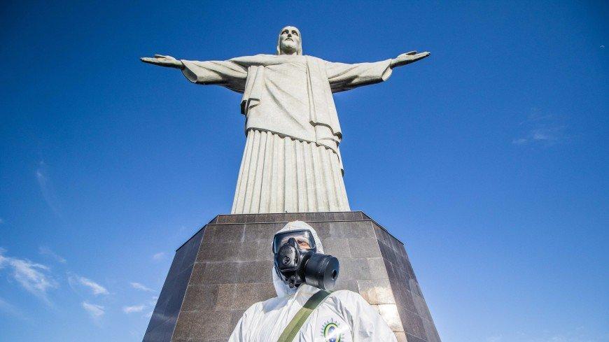Статую Христа-Искупителя в Рио-де-Жанейро открыли для посещения