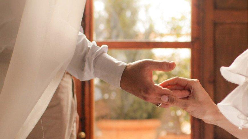 "Фото: Елизавета Шагалова, ""«МИР 24»"":http://mir24.tv/, молодожены, свадьба, кольца"