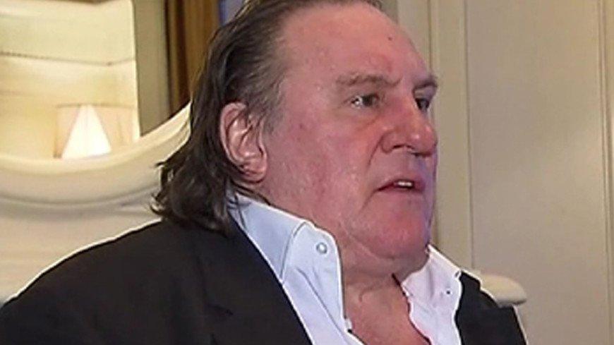 Жерар Депардье выпил и остался без скутера