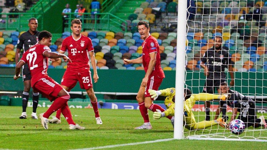 «Бавария» разгромила «Лион» и вышла в финал Лиги Чемпионов