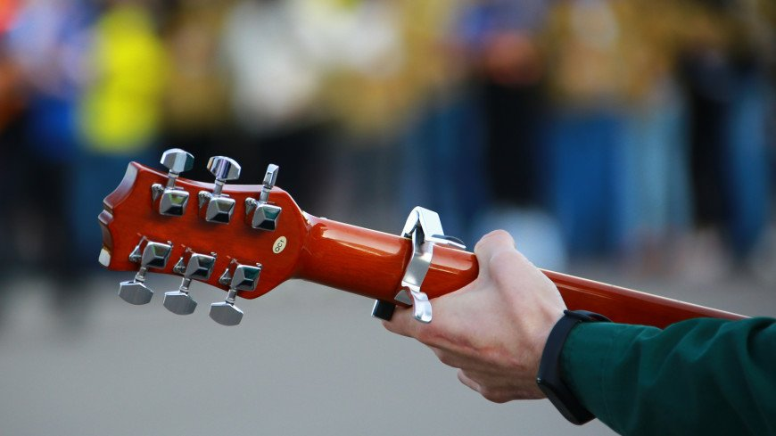 студенческий отряд, студотряд, слет студенческих отрядов, студенты, гитара, музыка, музыкант , бард, струны, песня,