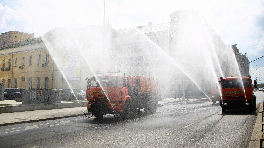 В Москве в субботу вымоют улицы с шампунем