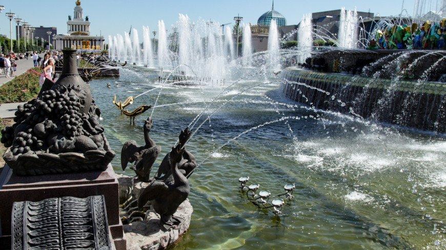 москва, парк, вднх, архитектура, город, фонтан, вода, жара, лето, дизайн, искусство,