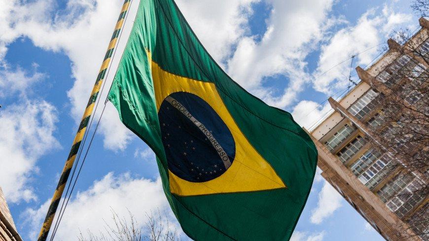 москва, архитектура, улицы, улица, бразилия, флаг бразилии