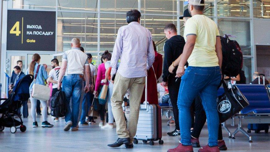 Пьяную пассажирку с маленькими детьми сняли с рейса в Шереметьеве