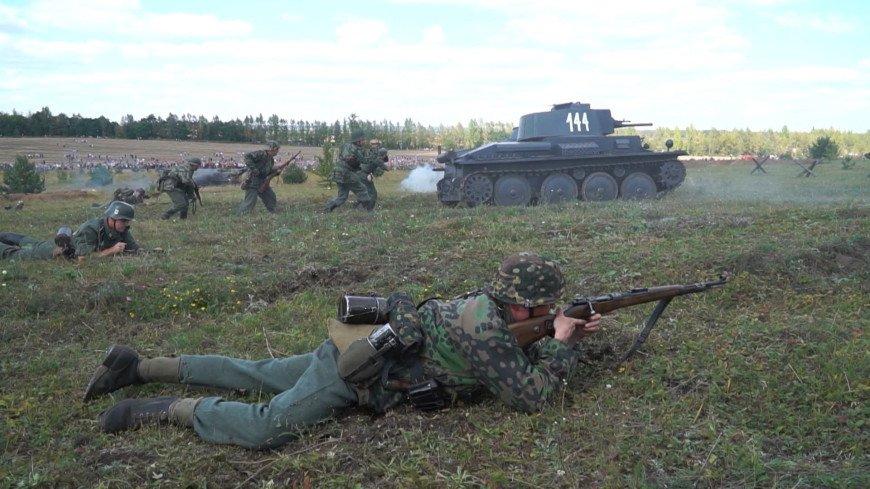 Переломное сражение: реконструкторы восстановили события Курской битвы